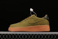 san francisco c856a 27b85 Mens Spring Shoes Nike Air Force 1 Low  07 Camper Green Gum - AQ0117-