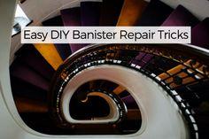 Easy DIY Banister Repair Tricks