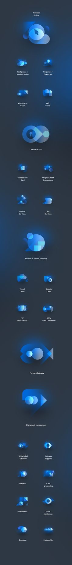 Transact Pro Icons on Behance