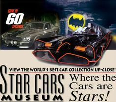 Hollywood Star Cars Museum • This place is an amazing museum with so many cars to see! It's one of the area's most unique attractions! #cars #museum