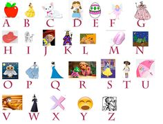 Printable Alphabet with pictures