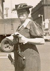 A Woman Shopper, Walker Evans, 1941