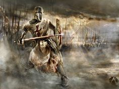 Knights in Spiritual Warfare Battle