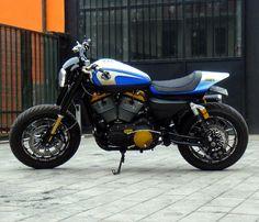 2013 Harley XR1200 | Angelo Neri, socio fondatore con Max pezzali di Harley Davidson Pavia ...