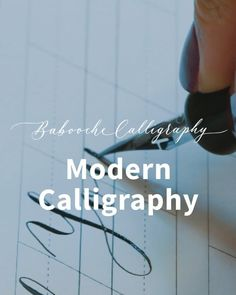 ONLINE CALLIGRAPHY WORKSHOP // I'm so excited to reveal my new exciting project!  The Babooche Modern Calligraphy Workshop will now be available online!  To make this amazing dream come true I have worked in partnership with the very talented team @workshop.app and create a brilliant online workshop for all the calligraphy enthusiasts. Workshop is a London based start-up company dedicated to creating better ways of learning using technology. Calligraphy Supplies, Calligraphy Envelope, How To Write Calligraphy, Calligraphy Pens, Modern Calligraphy, Caligraphy, Calligraphy Wedding Place Cards, Ways Of Learning, Hand Lettering