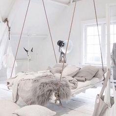 Bedroom goals ☁️ #pinterest