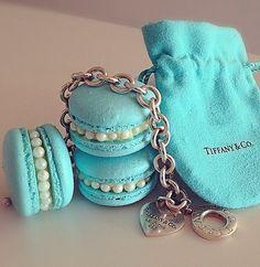 Turquoise | Aqua | Tiffany blue | Tiffany & Co. | macarons