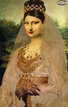 Mona Lisa marocaine... http://blog.jasmineandco.fr/la-joconde-est-marocaine/