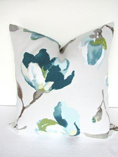 Image result for teal pillows that go with gray