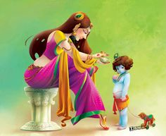 Little Krishna on Behance Arte Krishna, Krishna Leela, Radha Krishna Love, Krishna Radha, Durga, Saraswati Goddess, Lord Krishna Wallpapers, Radha Krishna Wallpaper, Lord Krishna Images