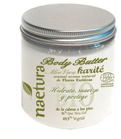 NAETURA Organics Aloe/Shea Body butter really has a buttery creamy gorgeous texture and deeply moisturize your skin the way your skin needs it.