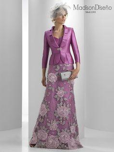 Elegant Dresses, Vintage Dresses, Formal Dresses, Couture Dresses, Fashion Dresses, Lace Gown Styles, Mature Fashion, Mom Dress, Two Piece Dress
