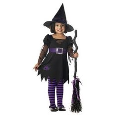 Wee Wittle Witch Child Witch Halloween Costume