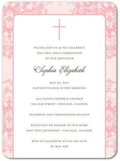 our first communion invites communion pinterest communion