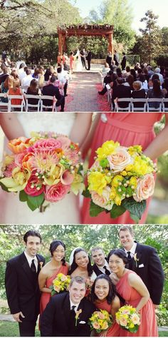 I love this color scheme. I want more than anything to have an outside wedding.