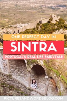 A day trip to the fairytale town of Sintra is a must on any Portugal trip! Here is everything you need to know about spending the perfect one day in Sintra, including the perfect Sintra itinerary, and tips on how to get from Lisbon to Sintra. Portugal Travel Guide, Portugal Trip, Visit Portugal, Europe Travel Guide, Sintra Portugal, Travel Destinations, Travel Abroad, Travel Guides, Backpacking Europe