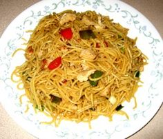 Spicy Chicken & Veggie Lo Mein (Phase 1)