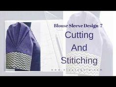 Blouse Guru Sleeve Design 7   Blouse Guru - YouTube