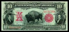 10 dollars from 1901.