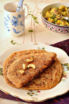 Dates and Sesame seeds stuffed Poli (flatbread)- This Khajur til Poli is a powerhouse of nutrition and very tasty too! Enjoy with a hot cuppa.