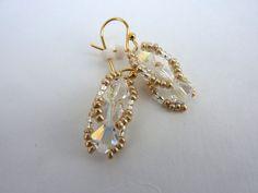 Swarovski Crystal Earrings Bridal  Crystal by everydayapromise