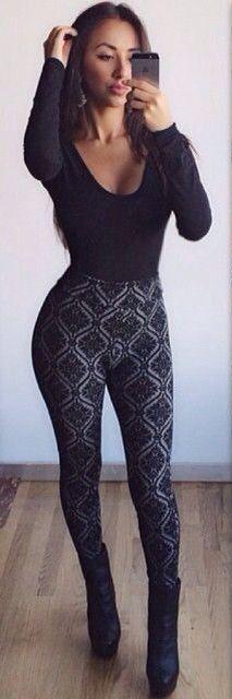 $59.99 Black Lace Keyhole Back Jumpsuit
