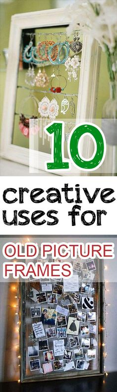 10 Creative Uses for Old Picture Frames (1)