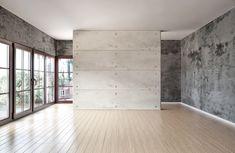 interior empty rooms studio bedroom recording setup living