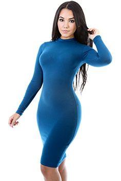 Long Sleeve Turtleneck Bodycon Dress M TEAL GITI ONLINE http://www.amazon.com/dp/B00NQFC8VA/ref=cm_sw_r_pi_dp_gLkQub19YMTBN