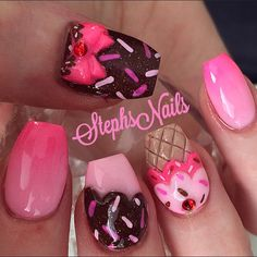 #icecream #nails