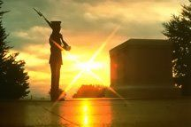 Sunset Tomb of the Unknown Soldier USA ~ Memorial Day - Sunset Tomb of the Unknown Soldier USA ~ Memorial Day You are in the right place about salute image - Tomb Guard, Jeopardy Questions, Unknown Soldier, Honor Guard, National Cemetery, Military Love, Land Of The Free, Walk Past, Happy Memorial Day