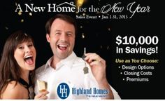 Save BIG on a NEW Home for the NEW Year!