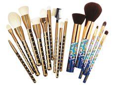 Apply Your Makeup Like a Pro with These 6 Affordable Brush Sets! from #InStyle