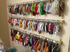 best way to display keychain collection - Google Search