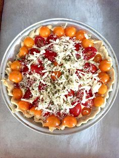 ... --Gluten Free on Pinterest | Vegetarian Chili, Quiche and Tomato Pie