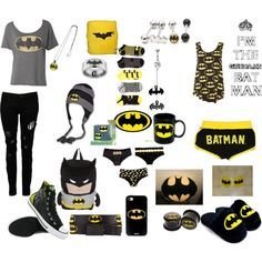 "Batman stuff  ""Untitled #13"" by neonderp on Polyvore"