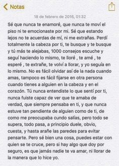 Pretty Quotes, Sad Love Quotes, Spanish Words, Spanish Quotes, Words Can Hurt, Sad Texts, I Hate My Life, Relationship Texts, Love Text