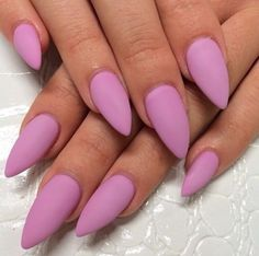 how to stiletto nails - Google Search