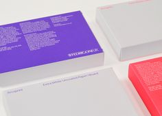 Fedrigoni UK – Arcoprint paper sampler  Design Design Project
