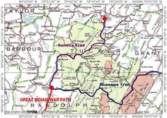 Indian Trails West Virginia | List of routes