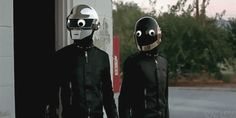 Daft Punk With Googly Eyes GIFS Are Genius. Further proof that adding googly eyes to everything is a great idea.