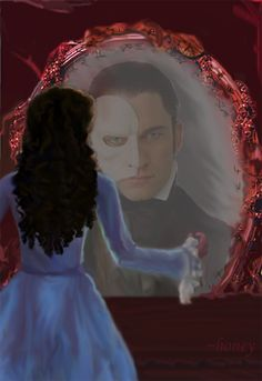 """""""In the mirror...""""- E-C- PotO by ~honeyphan on deviantART"""