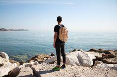 """#DesignObject - """"Nomadic chair"""" (1) by jorge penades can be worn like a backpack.    """"Le luxe n'est plus une question de confort mais plutot ,aujourd'hui,le fait d'avoir le choix de l'endroit où l'on veut trouver un moment de paix,une chance d'échapper à l'activité trépidente des modes de vie contemporains.""""  #designboom"""