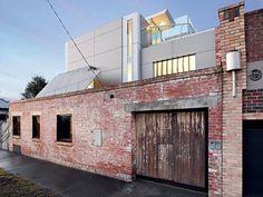 Sleek industrial interiors creates breathtaking home