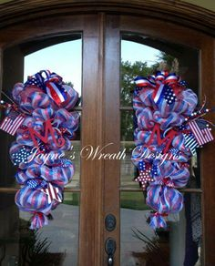 memorial day door decorations