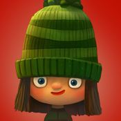 Green Riding Hood: Fairytale by Huracan Apps Ipod Touch, Hood Books, Iphone, App Of The Day, Fairy Tales For Kids, App Icon Design, Photoshop Me, Ios Icon, Chef D Oeuvre