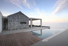 5 case vacanza di design con piscina in Grecia - Elle Decor Italia