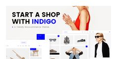 Indigo  A Trendy WooCommerce Theme //  Indigo Features Highly Customizable Extensive Admin Interface Simple One-Click Import of Demo Content No coding knowledge required Big custom shortcode collection Responsive & Retina Ready  // #WordPress #themes