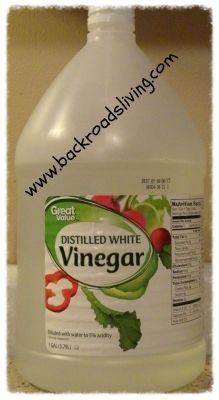Uses for White Vinegar ~ White Vinegar Solutions - Back Roads Living