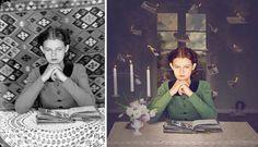 mymodernmet:  Artist Jane Long Turns Historical Photos into...